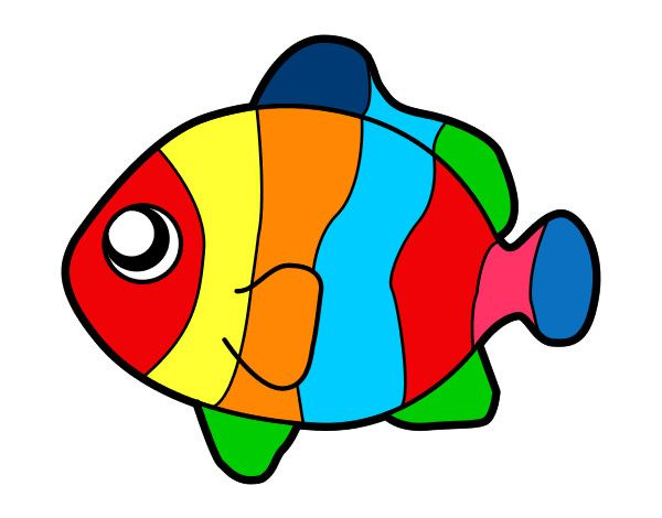 Dibujos De Animales A Color Para Imprimir: Http://cdn5.dibujos.net/dibujos/pintados/201242/pez-payaso