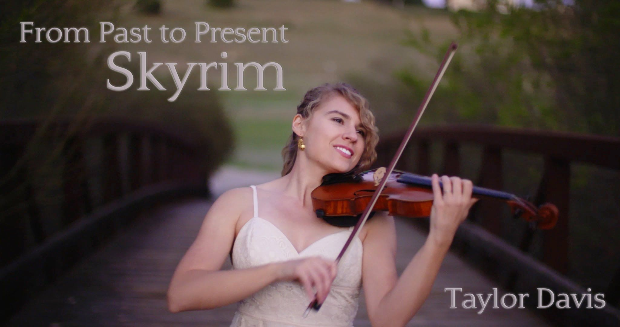Skyrim From Past To Present Violin Cover Taylor Davis