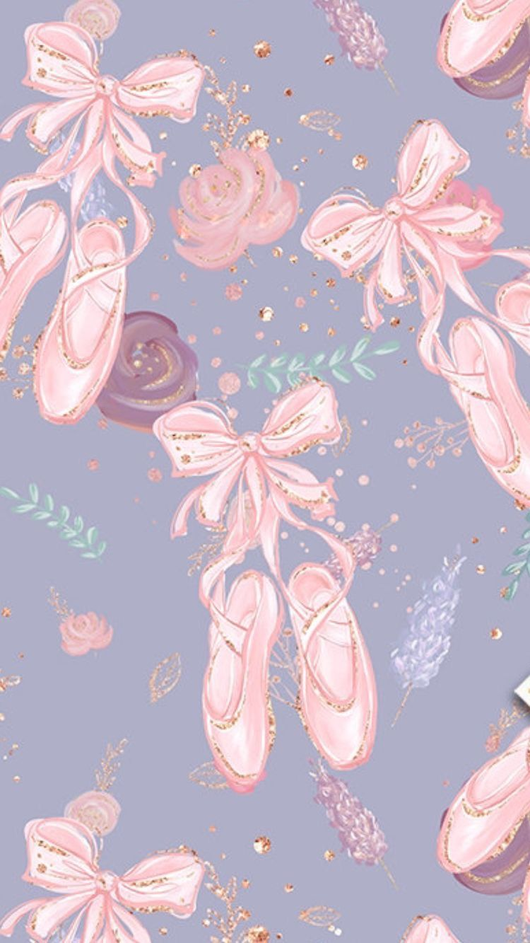 Pink Ballet Shoes Ballet Wallpaper Dance Wallpaper Ballerina Wallpaper