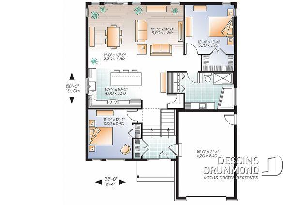 Great Plan De Maison Urban Valley No V House With Classe Energie E Maison