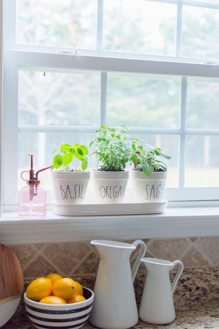Simple Diy Kitchen Herb Garden Garden Kitchen Simple 400 x 300