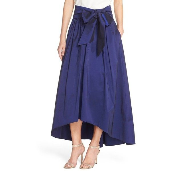 e37f5b1520d Eliza J High Low Taffeta Ball Skirt ( 138) ❤ liked on Polyvore featuring  skirts