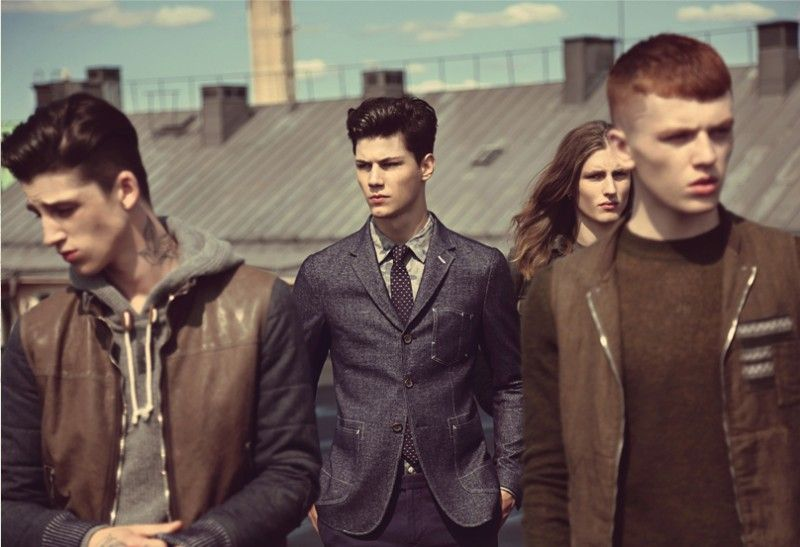 ti012 800x547 Simone Nobili, Jake Shortall, Ash Stymest & Viggo Jonasson Front T.I for Men Fall/Winter 2013 Campaign