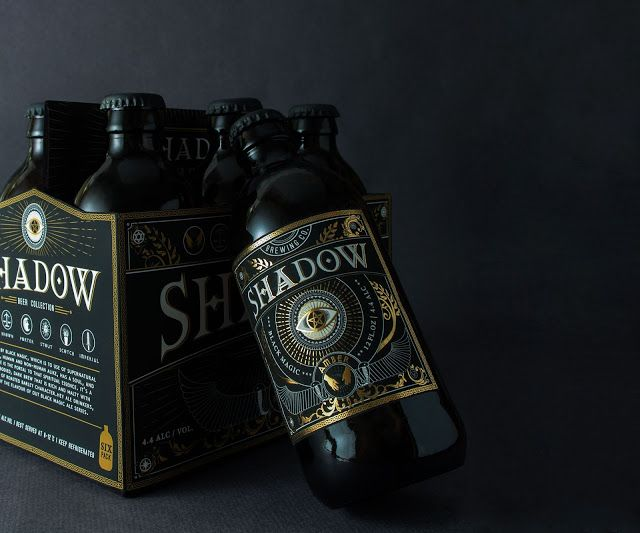 Packaging   Shadow Beer by Zoey Chung