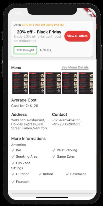 LocoBar' Multistore IOS App Templates in Flutter | Ios app