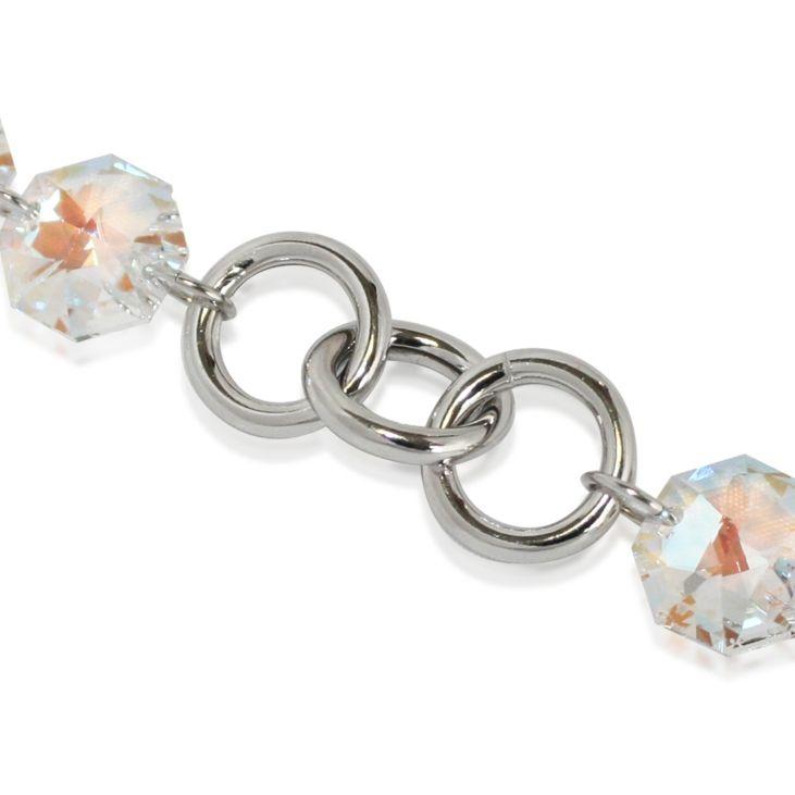 Persona Rainbow Crystal Bracelet made with Swarovski Element