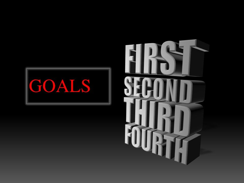 If you don't have goals for every area of your life, you aren't living your life to the fullest