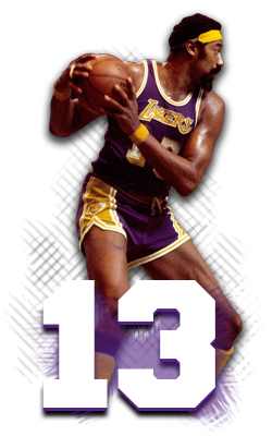 Wilt Chamberlain Lakers Los Angeles Lakers Basketball Legends