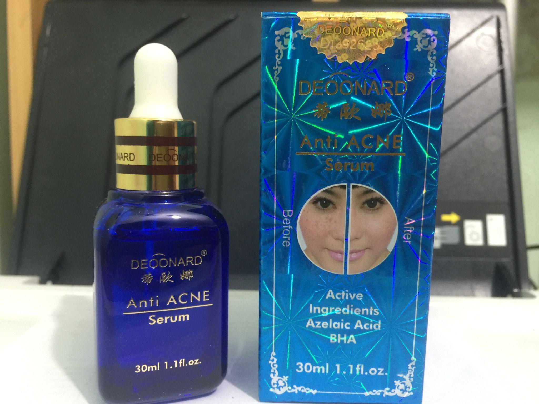 Serum Deoonard Blue Anti Acne Serum Anti Jerawat (Dengan