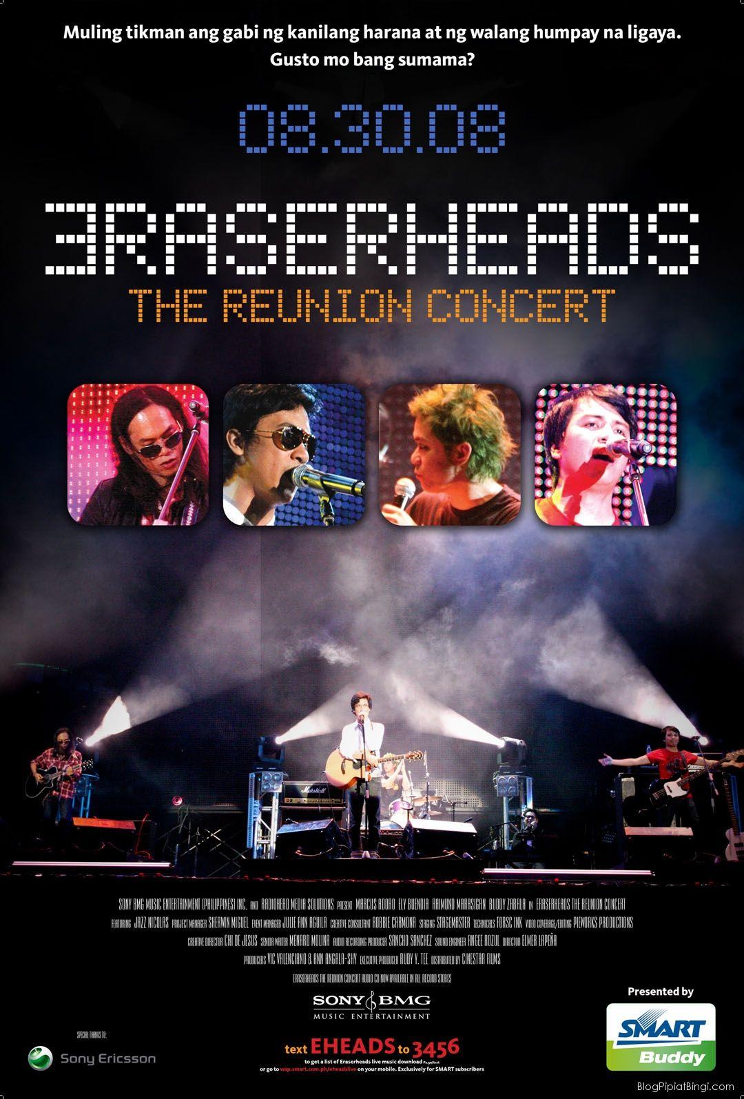 Eraserheads Manila 2008 The Reunion Documentary Movies Bmg Music