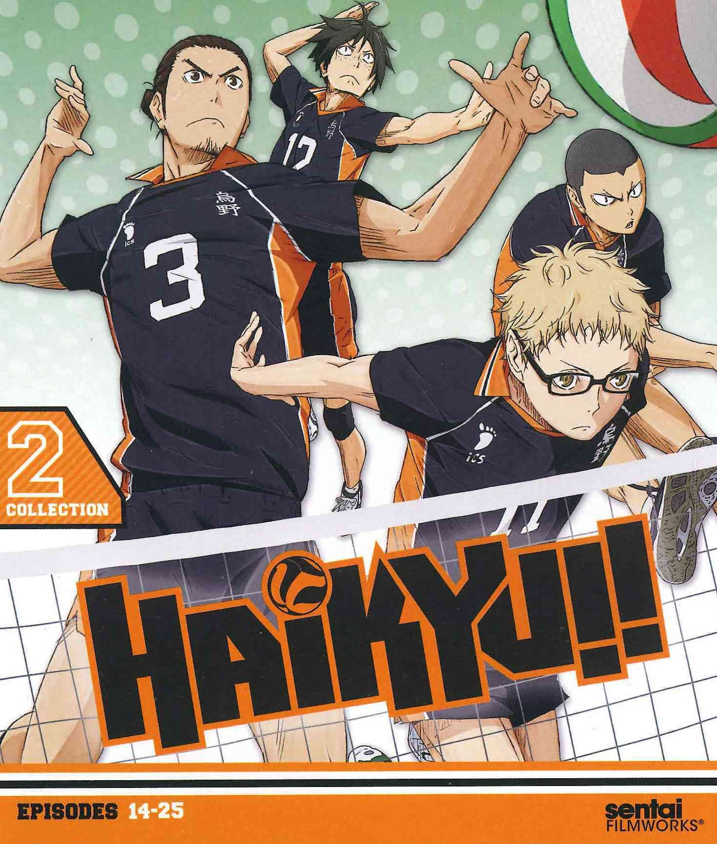 Haikyu!! Collection 2 Haikyuu, Haikyu!!, Sports anime