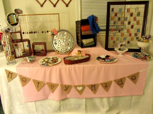 Ever since I opened my own Etsy shop I've been dreaming and wishing someday I could be a part of a craft show and rent a table and make an ...