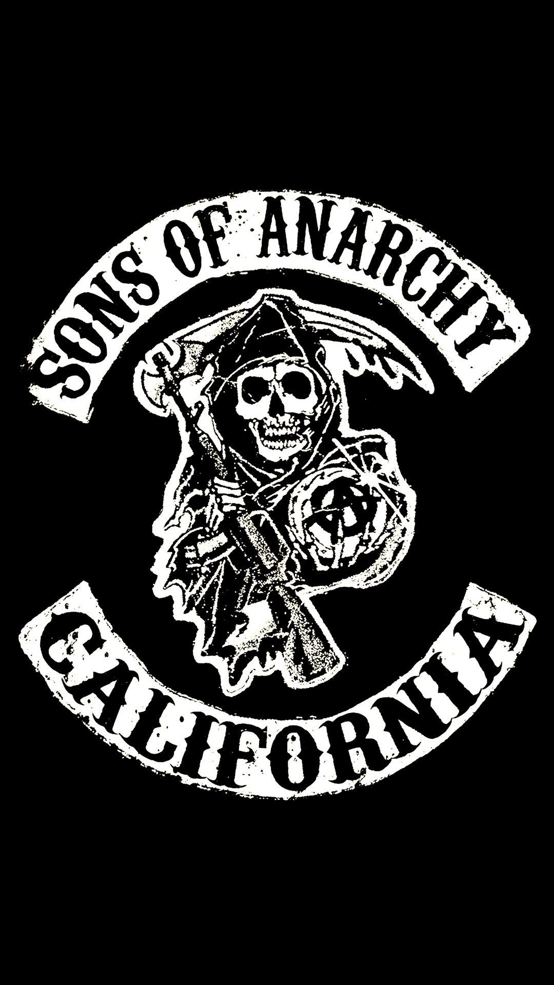 Sons Of Anarchy Hd Wallpaper Iphone In 2020 Sons Of Anarchy Tattoos Sons Of Anarchy Anarchy