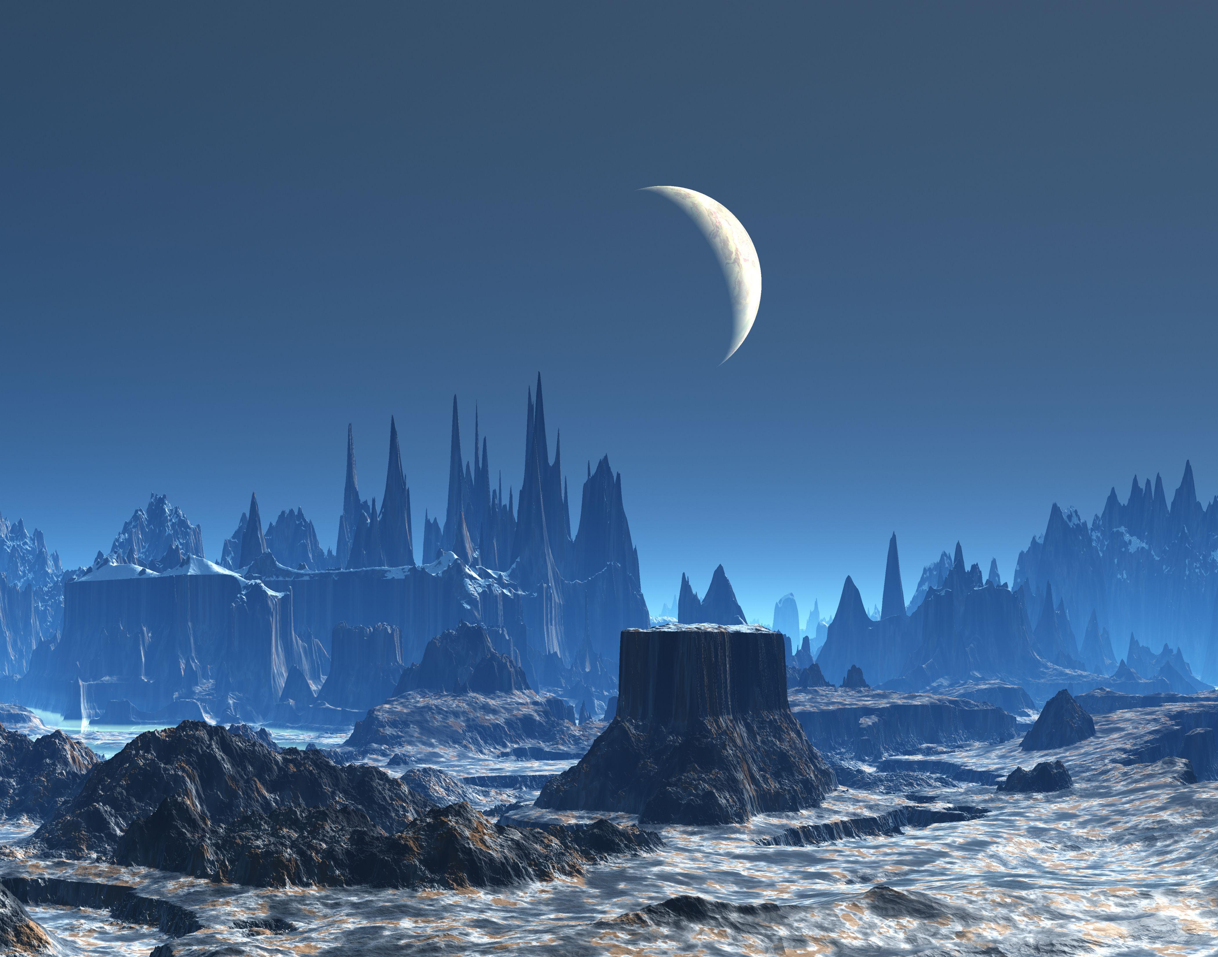 planet alien landscape | Alien Planet 11061 Hd Wallpapers ...