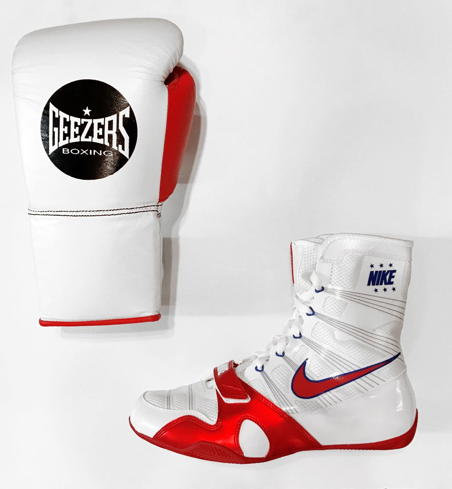 Comiendo Personas con discapacidad auditiva Demostrar  This Geezers & Nike Combo is Geezers ProFight gloves are approved by the  BBBofC for all professional fights. Find out mor… | Nike, Martial arts  gear, Boxing gloves