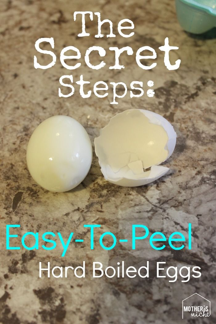 The Secret Steps to Easy-to-Peel Hard-Boiled Eggs