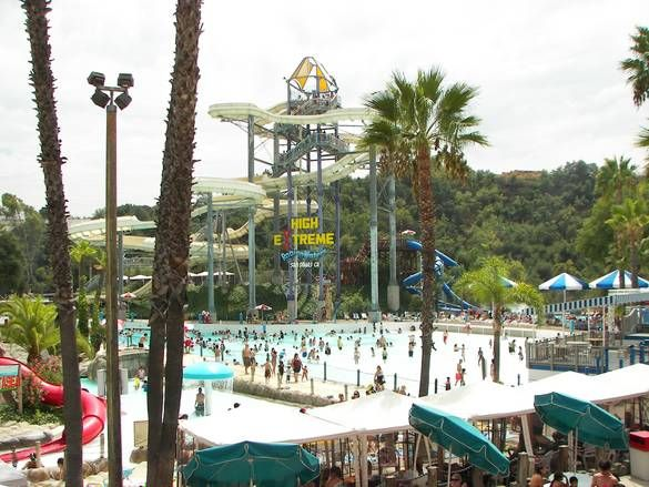 Raging Waters San Dimas San Dimas California Dreamin Water Park