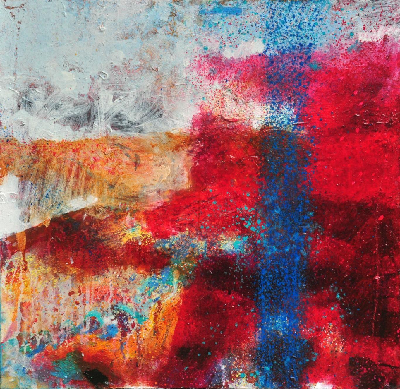Vapour (Study Two), Oil on Canvas, 60cm x 60cm.