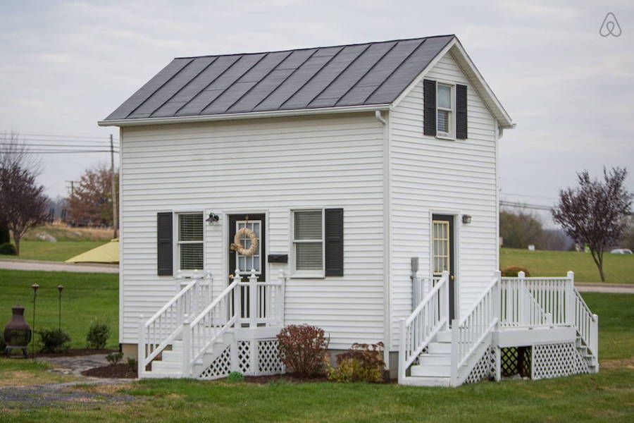 harrisonburg tiny house a two story tiny house in harrisonburg virginia - Two Story Tiny House