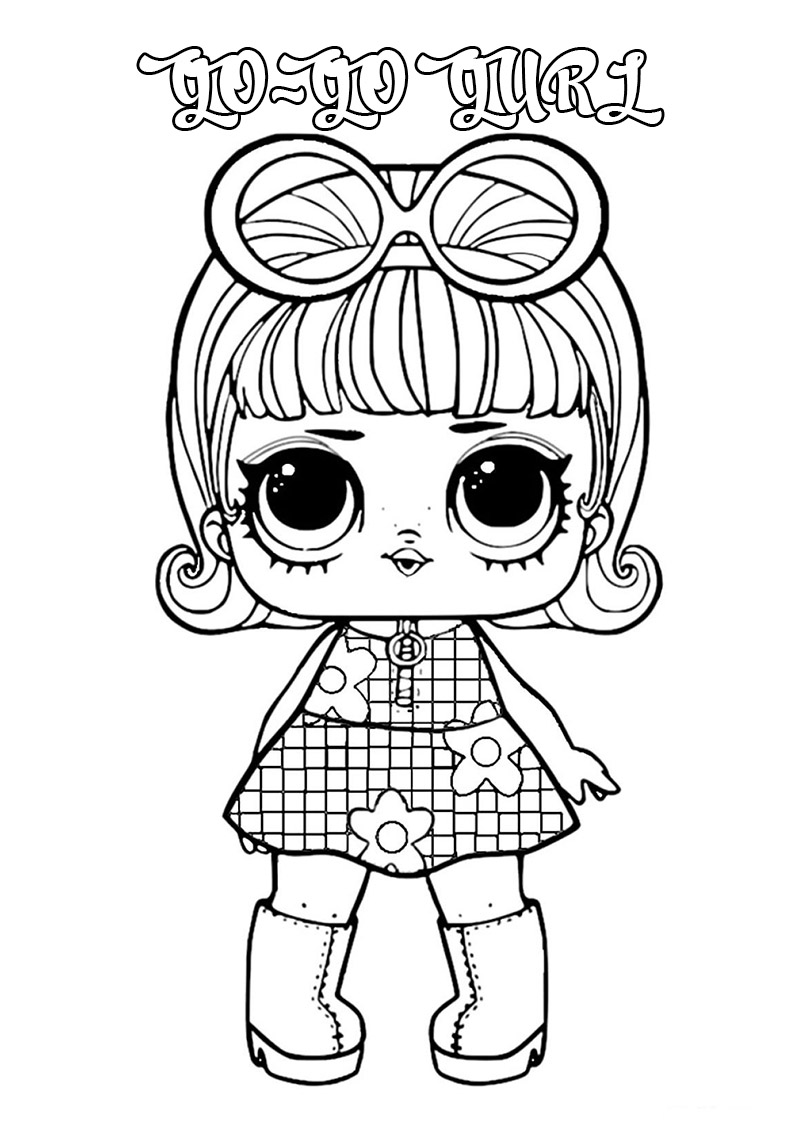Lol Surprise Dolls Coloring Pages Print Them For Free All The Series Coloring Pages Superhero Dolls Lol