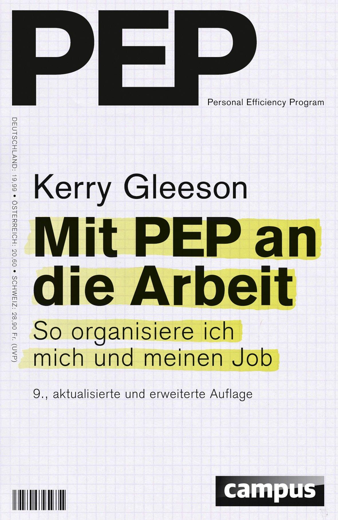 Buch-Tipp: Mit PEP an die Arbeit – So organisiere ich mich und meinen Job