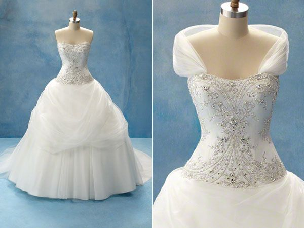 Vestidos de noiva das Princesas Disney | Belle wedding dresses ...
