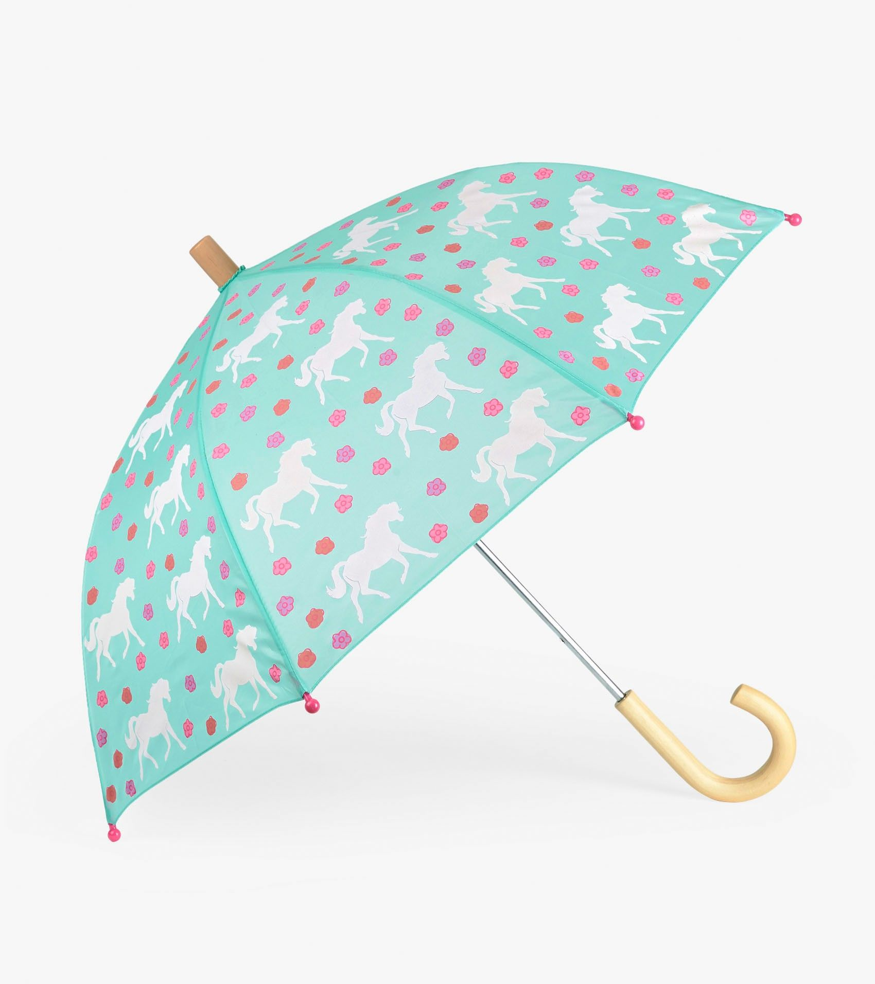 1e0722d1495a8 Galloping Horses Umbrella by Hatley | We ❤ rain | Rain wear ...