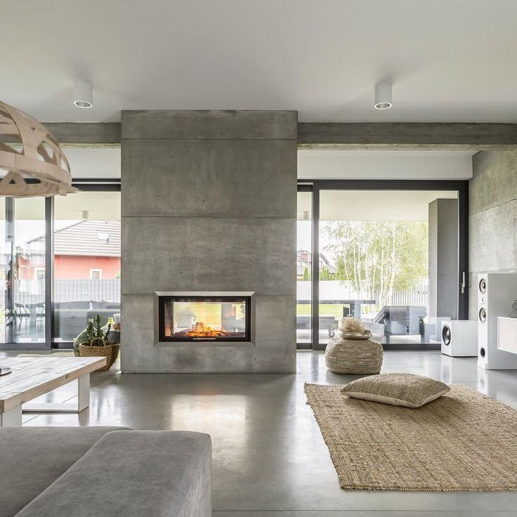 "Renovare on Instagram: ""#concrete ... a minimalist's dream! ☁️☁️☁️ From polished concrete floors to wall panels to benchtops, it's a great way of adding texture to…"""
