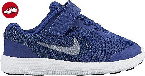 Nike Unisex-Kinder Revolution 3 3, Bleu (Deep Royal Blue/Metallic Cool ·  Royal BlueRoyalsBlack ...