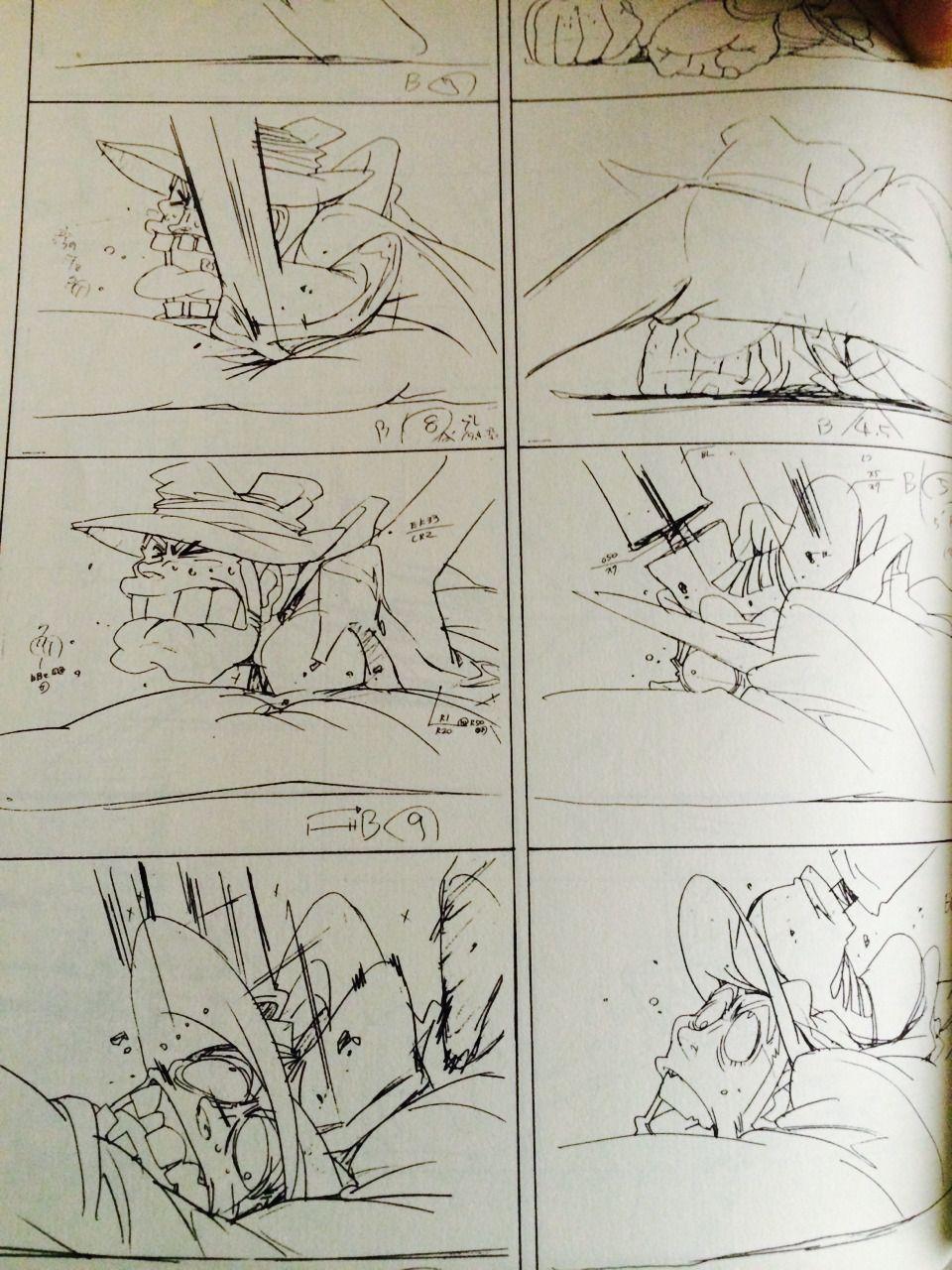 RNG Goddess — Just got one of Hiroyuki Imaishi sketchbooks. Has...