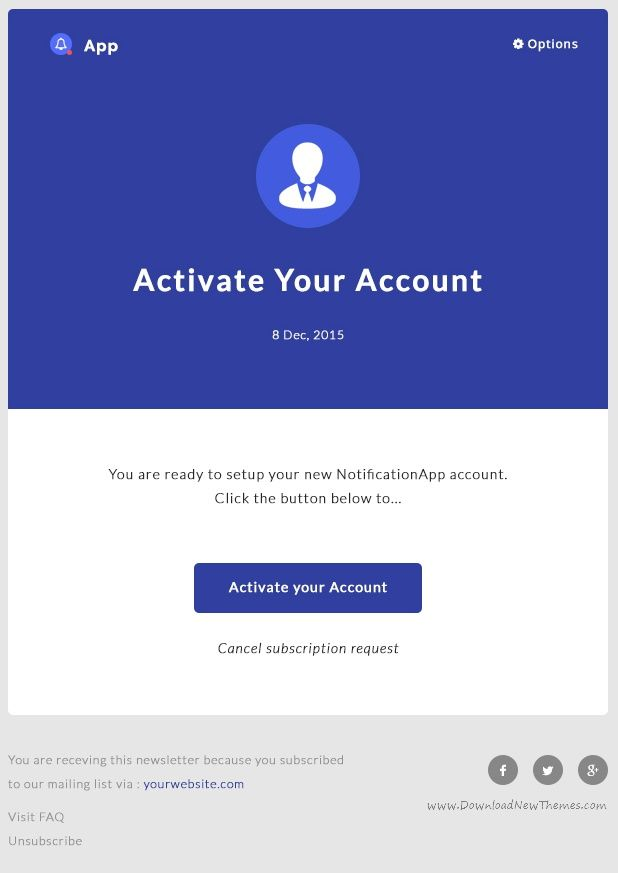 Pin By Niosatou On Newsletter Email Pinterest Email Templates