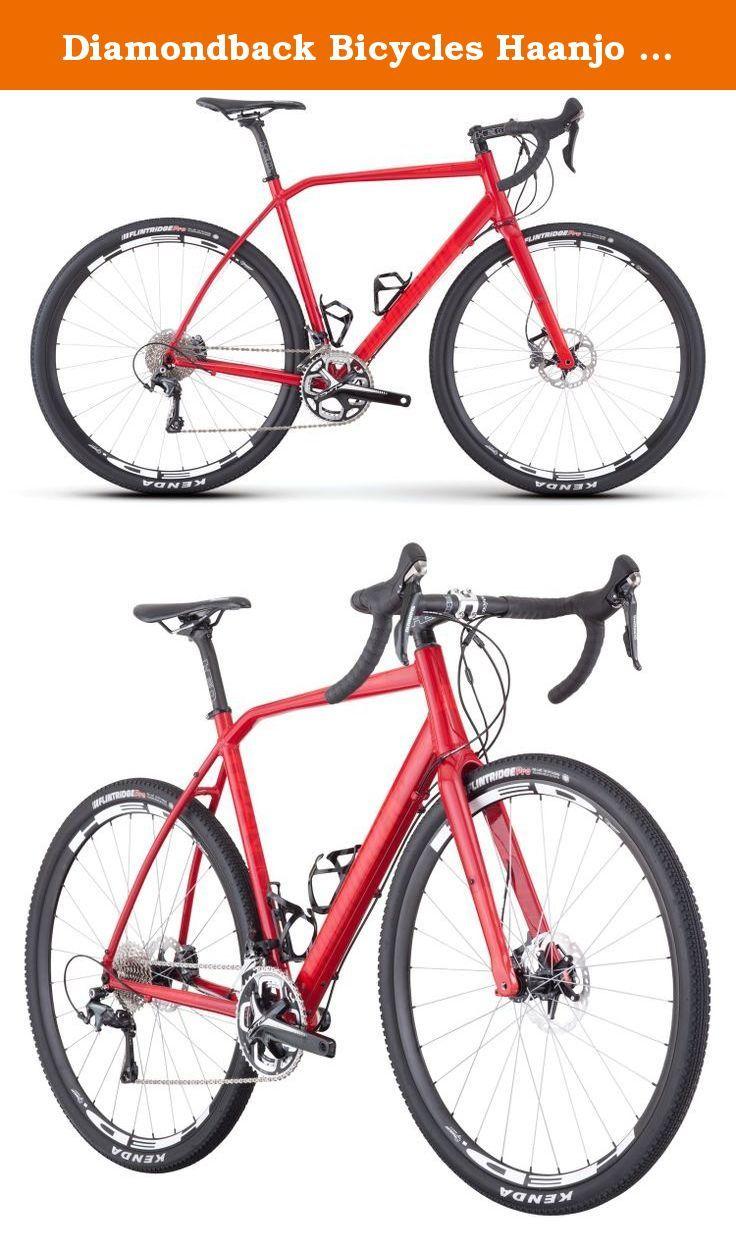 Diamondback Bicycles Haanjo Trail Alternative Road Bike, 50cm/Small ...