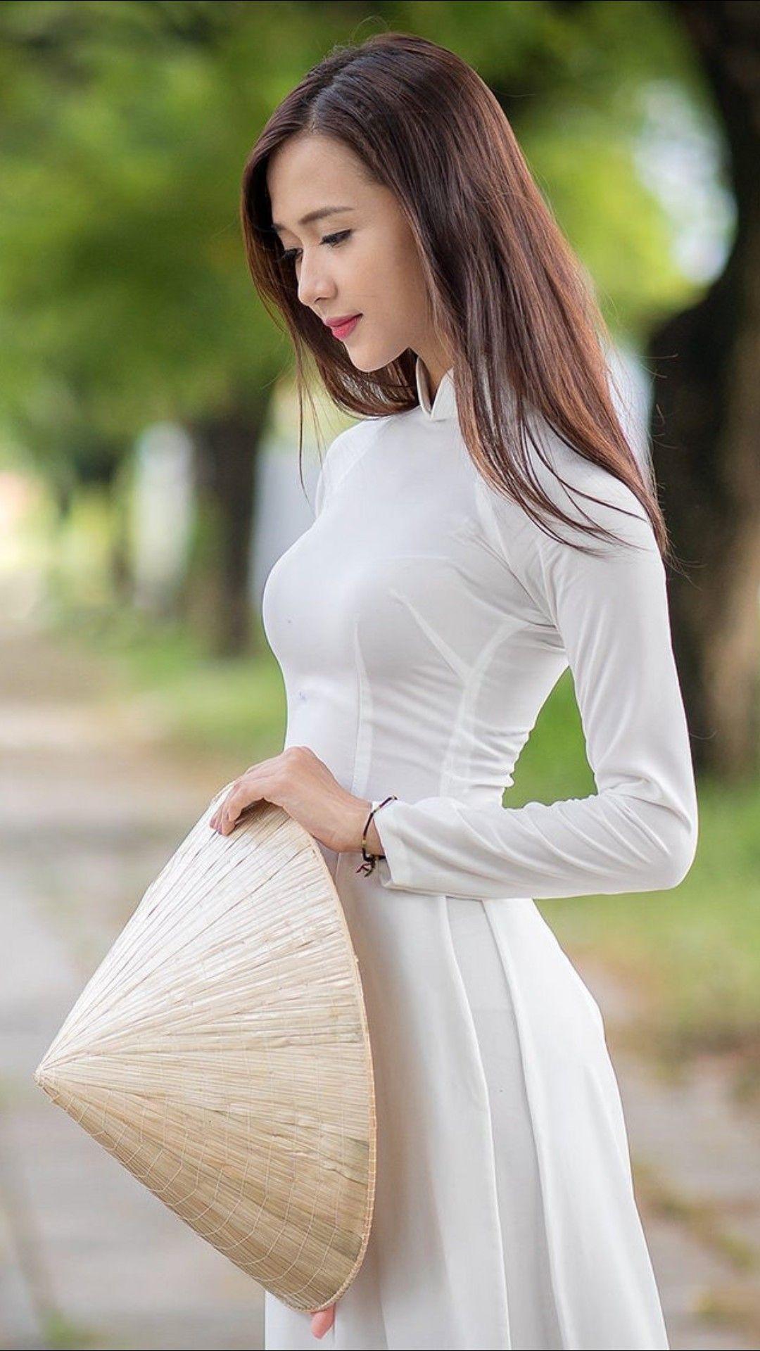 Vietnamese long dress ベトナム女性 pinterest ao dai asian and