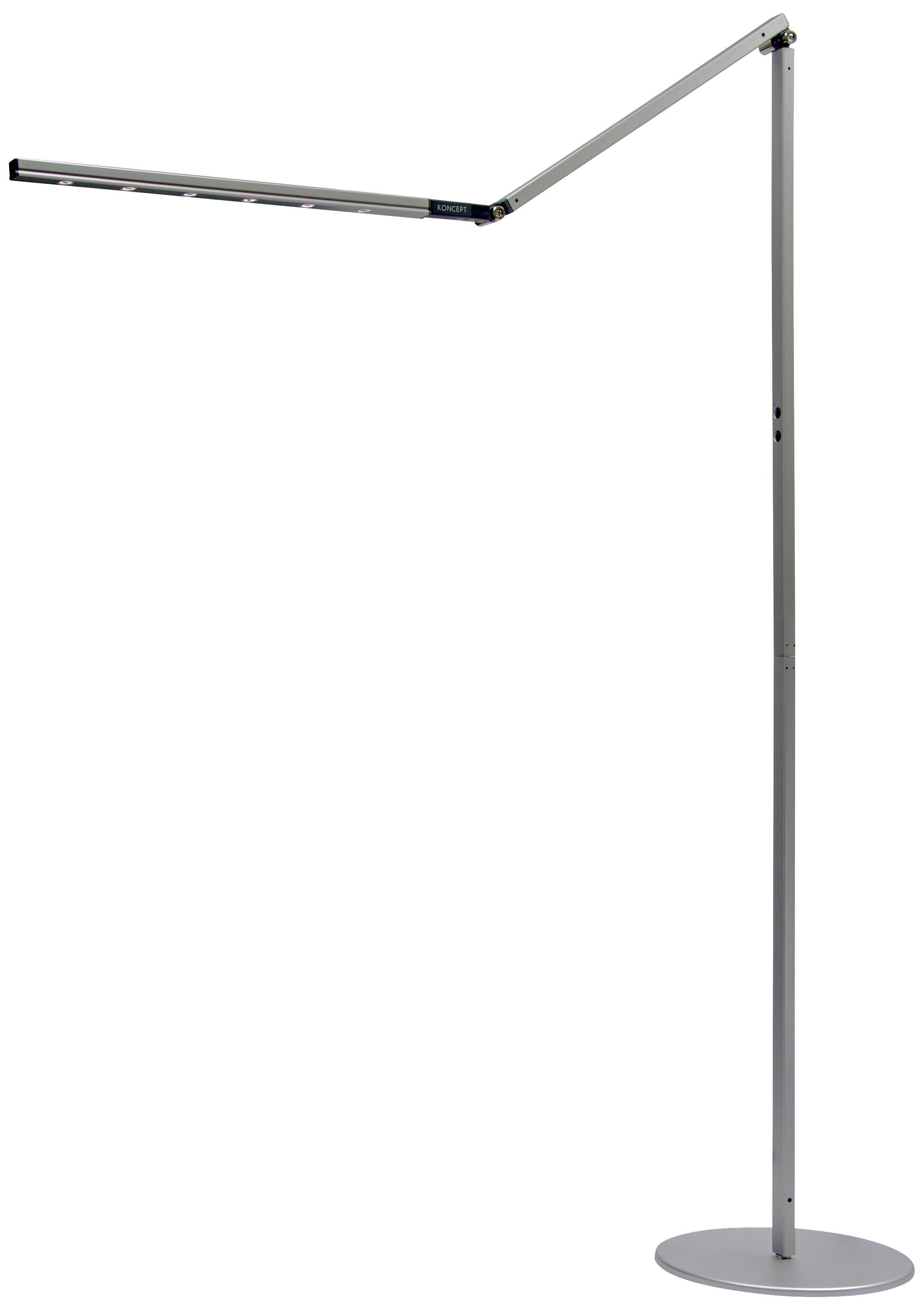 Gen 2 I Tower Silver Finish Daylight Led Floor Lamp 215 Led Floor Lamp Lamp Floor Lamp