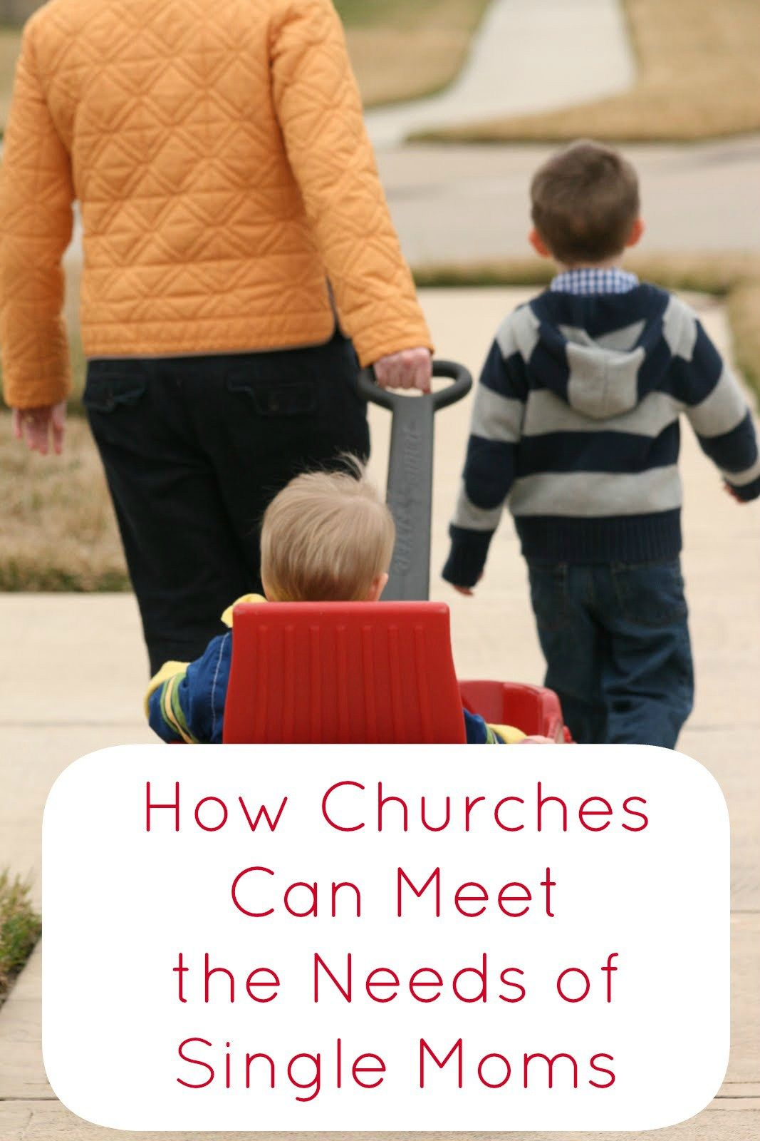 How Churches Can Meet The Needs Of Single Moms From