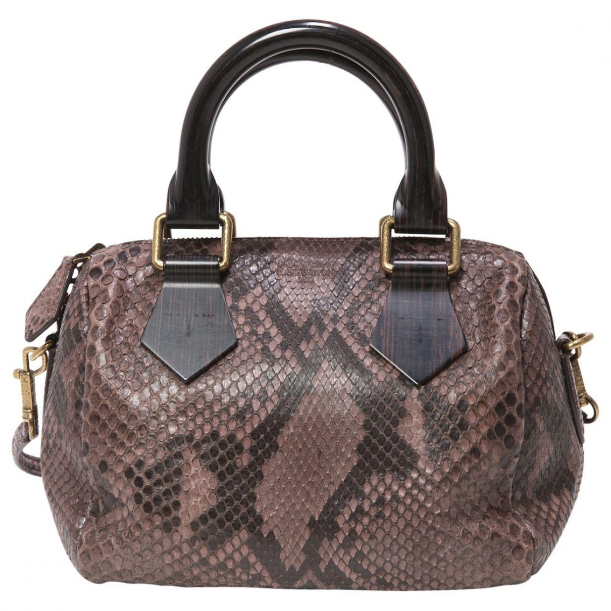 9e05b78d2 LOUIS VUITTON Purple Exotic leathers Handbag