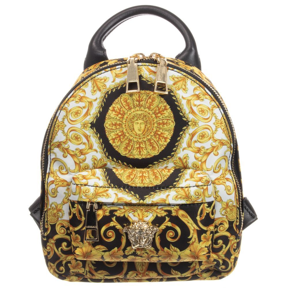 Young Versace - Girls BAROQUE Backpack (22cm)  e1f054baf452a