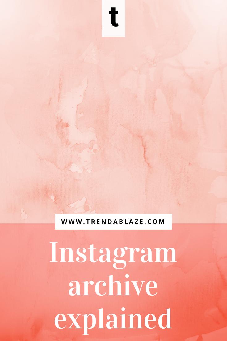 archive photo instagram undo