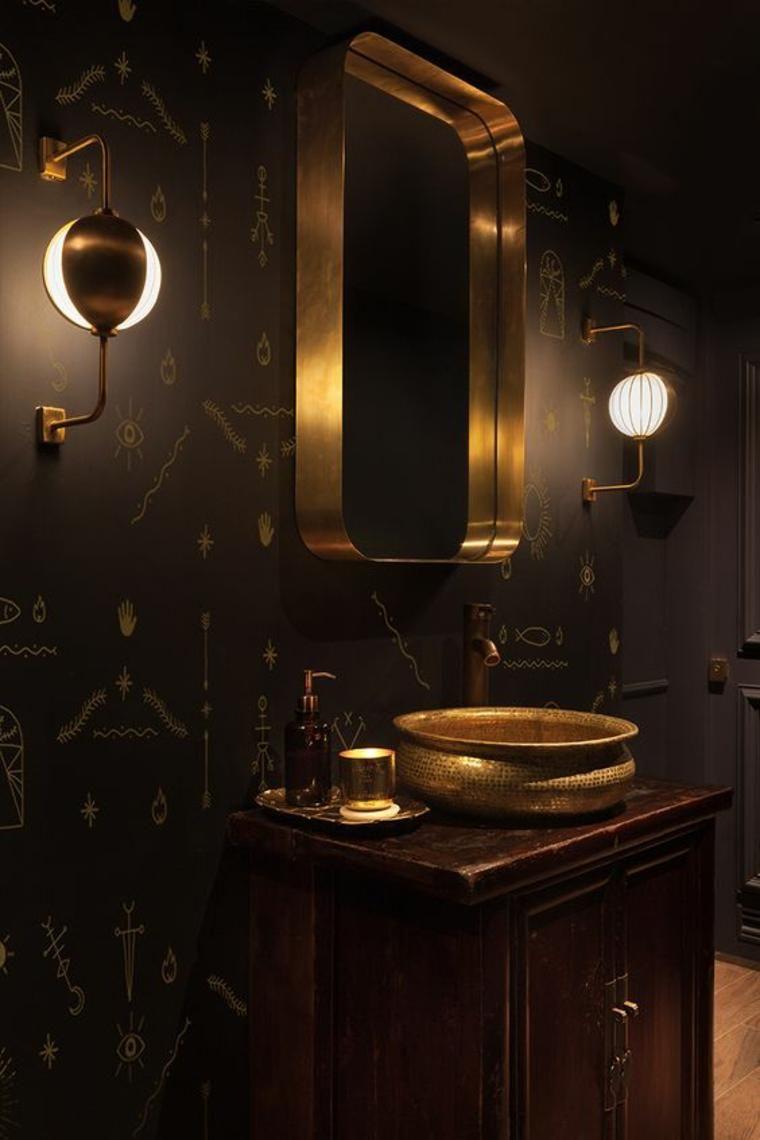 Photo of Dekorieren Sie Badezimmer in dunklen Tönen – wagen Sie es, Farben zu verwenden – Dekoration ideen