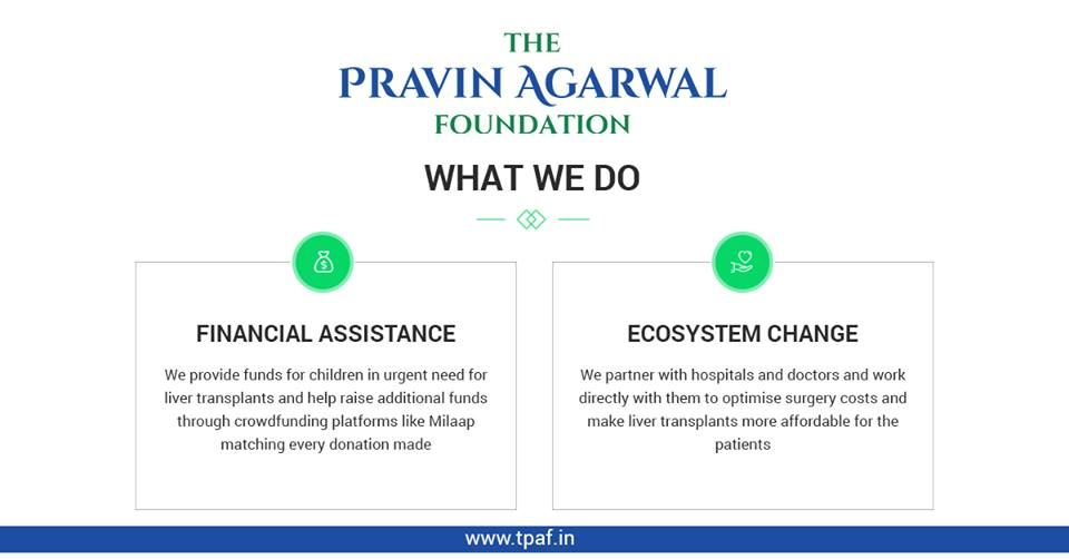 Let Us Know What The Pravin Agarwal Foundation Do Liver Care Financial Help Liver Failure