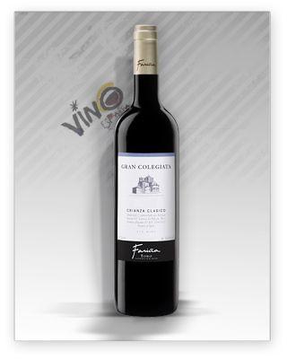 Cata De Gran Colegiata Farina Crianza 2010 Vinos Botellas De
