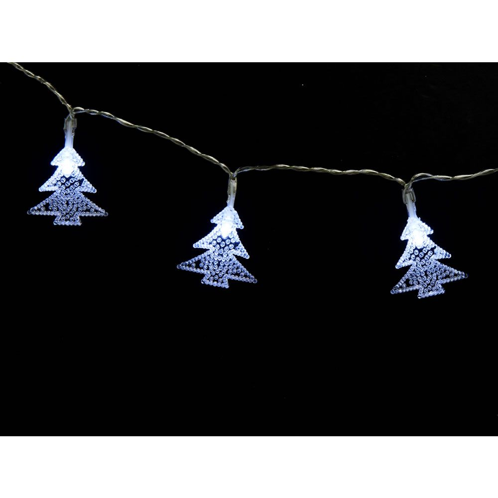 cheap for discount b89b2 d3a74 Wilko Frosted Battery Operated LED 20 Tree String Lights ...