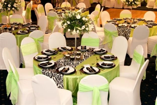 Green And Black Wedding Decorations Decor Hiring Soweto Event