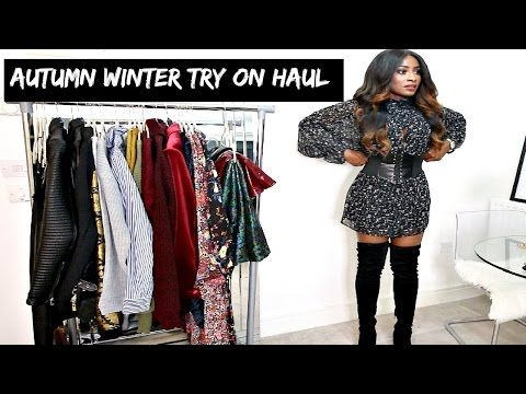 AUTUMN/ WINTER TRENDS TRY ON HAUL | NEW FILMING STYLE? - YouTube