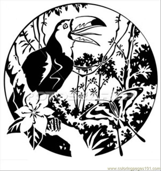 free rainforest coloring pages | free printable coloring page ... - Rainforest Insects Coloring Pages