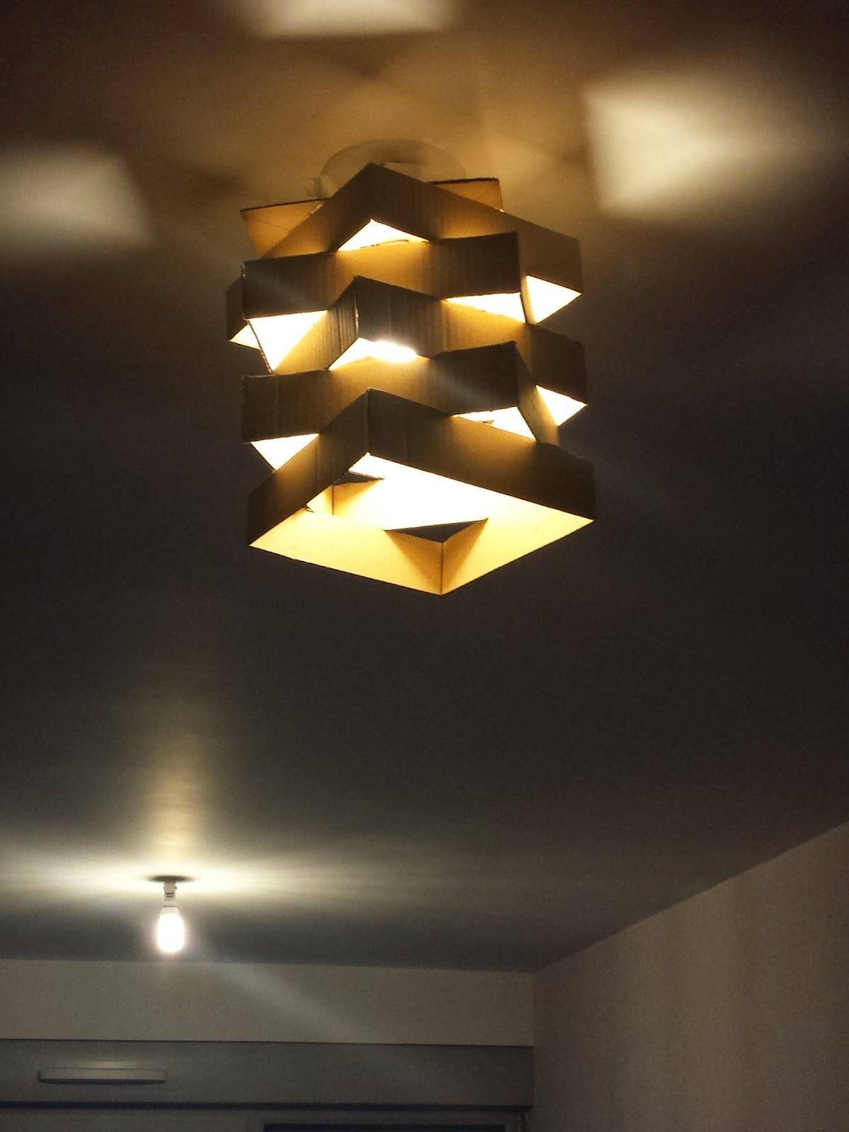 Contreplaqué Bambou 3 Mm mon lustre en carton ! | lamp
