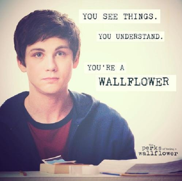 Quote from the coming of age movie The Perks of Being a ...