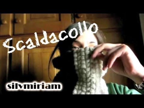tutorial Puff-stitch - scaldacollo all'uncinetto - YouTube