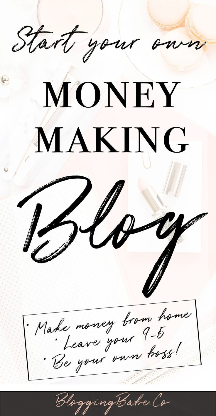 How To Start A Blog & Make Money From Day 1: How I Created