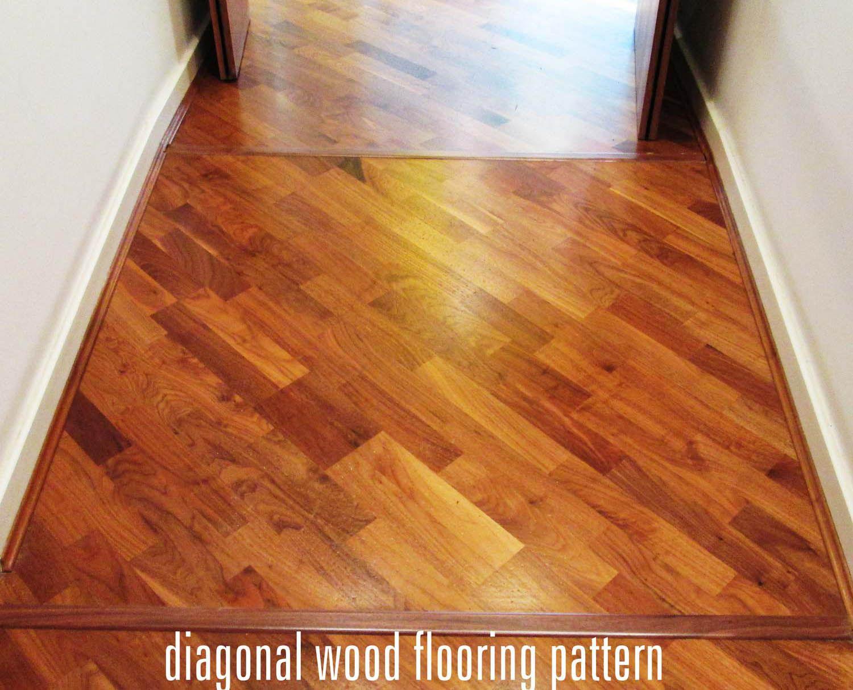 diagonal wood floor pattern Wood floors, Wood floor